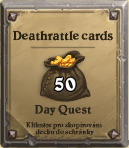 Deathrattle cards