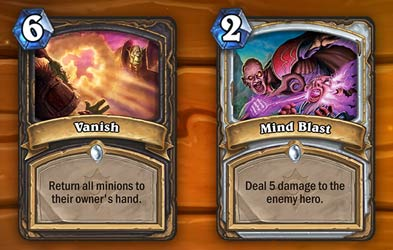 vanish and mind blast dust